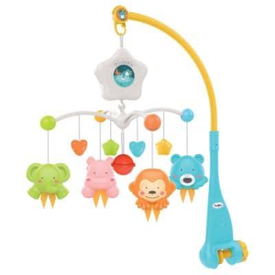 מובייל חיות – Star Animal Cot Mobile