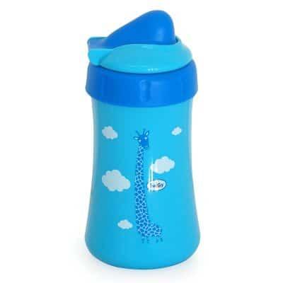 כוס שתייה ספורט עם קשית – Flawless™ Chipfon cup With Flip Lid