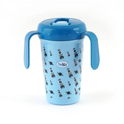 כוס אימון עם ידיות אחיזה – Flawless SipN'Seal Tall Cup with Handle™