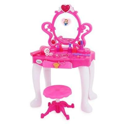 שולחן איפור עם ערכת איפור – Cosmetic Table